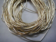 French Metal Wire Coil Bullion Purl Gimp Smooth Regular Jewelry Embroidery Suppl