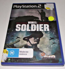 WWII Soldier PS2 PAL *Complete*    *Free Postage*