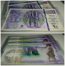 Mujand £50 Queen Guinevere Polymer Test Private Fantasy banknote specimen note