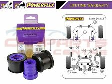 FOR BMW E46 M3 1999-2006 POWERFLEX FRONT WISHBONE REAR BUSHES PFF5-4601M3