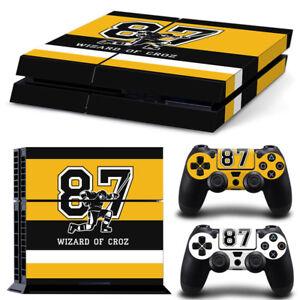 PS4 Playstation 4 Console Skin Decal Sticker Sid Pittsburgh Custom Design Set