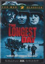The Longest Day (DVD, 2001, Canadian, Widescreen) 1962 - Robert Mitchum