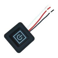 5V-15V 3 Gear Temp Control Waterproof Heating Switch Clothes Silicone ButtoW iv