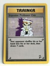 --Pokémon Base 2 Imposter Professor Oak 102/130