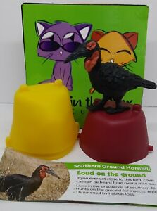 Southern Ground Hornbill Yowie figurine COMPLETE