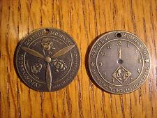 Captain Midnight Flight Patrol Membership Medal Skelly Oil Spinner Key Chain Fob