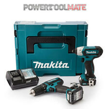 Makita CLX202AJ Li-Ion CXT 10.8v 2 Piece Cordless Kit- Includes 2x 2Ah Batteries