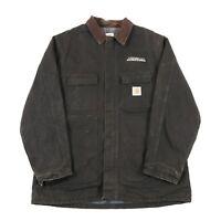 CARHARTT Blanket Lined Chore Coat | Men's XL | Jacket Work Wear Canvas Vintage