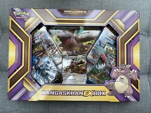 Pokemon Kangaskhan EX Box | New & Sealed | 4 Booster Packs | Out Of Print