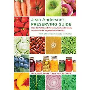 Jean Anderson's Preserving Guide: How to Pickle and Pre - Hardcover NEW Jean And
