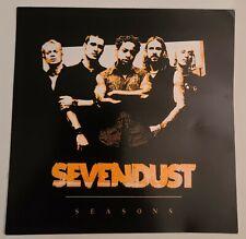 Sevendust rare Promo STICKER From 2003 Seasons