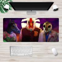 XXL Gaming Mauspads Groß Blut Miami Mausunterlage Computer PC Mousepad Hotline
