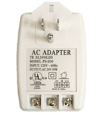 Ul Listed 50Va Ac120V to Ac24V Class 3 Ac/Ac Adapter for Security Cctv
