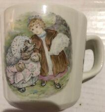 Wedgwood Porcelain Beatrix Potter Mug Mrs. Tiggy Winkle Hedghog Childs Cup
