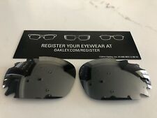 New Oakley Jawbone/Racing Jacket Black Iridium Vented Lens Set