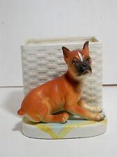 Vintage, Lipper & Mann, Pottery Planter, Boxer Puppy