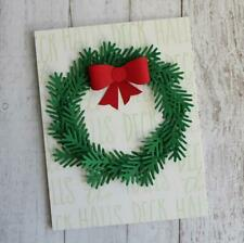 Christmas Tree Leaves Pine Pincone Metal Cutting Dies Stencil Scrapbooking Card
