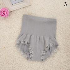 Women's High Waist Body Shaper Brief Underwear Tummy Control Panties Shapewear Gray