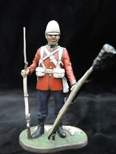 Private 24th Foot Zululand Metal Cast 90mm Studio Painted Military Figure M21
