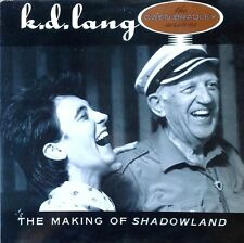 K.D. LANG - MAKING OF SHADOWLAND / OWEN BRADLEY SESSIONS - SIRE LP - 1988
