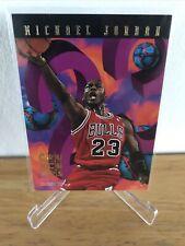 1995-96 Michael Jordan NBA Hoops Number Crunchers Insert Card  #1/25 HOF Bulls🏀