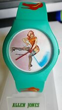 ALLEN JONES TIME TO PLAY 91 LIMITED EDITION 4999 ARTIST WATCH SIGNED CHAOS SWISS