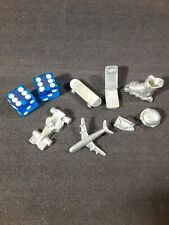 Monopoly Electric Banking 7 Game Pieces & Dice