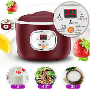 Electric Automatic Yogurt Maker Thermostatic Kitchen Rice Wine Natto Machine