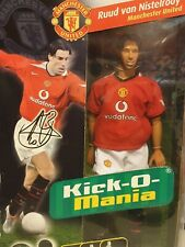 More details for kick-o-mania ruud van nistelrooy manchester united figurine doll footballer