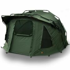 NGT Fortress 2 Man Shelter Bivvy System with Hood - Green Fishing
