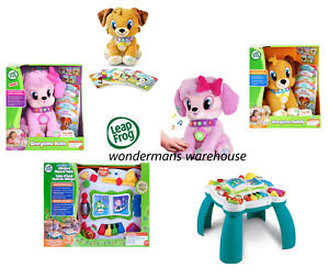 Leapfrog Educational Electronic Toys - Storytime Bella/Buddy & More - Brand New
