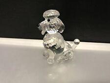 Swarovski Figur Pudel sitzend 5 cm. Top Zustand