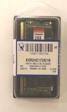 16GB Kingston ValueRAM DDR4-2400 SO-DIMM CL17 Single, KVR24S17D8/16