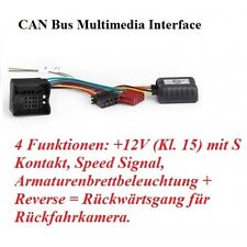 Opel Meriva, Signum RTA 032.525-0 CAN-Bus Adaptador Coche Radio adaptador canbus