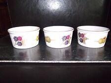 Royal Worcester Evesham Ramekins X 3 Fine Porcelain
