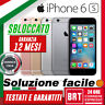 SMARTPHONE APPLE IPHONE 6S 16GB/32GB/64GB/128GB ORIGINALE! 12 MESI GARANZIA!
