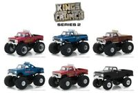 Greenlight 1:64 Kings Of Crunch Series 2 Set of 6 BigFoot  Monster Trucks 49020