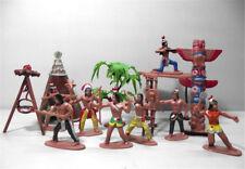 13pcs/set Indian Tribes Model Toy Doll Figure Native American Art Decor JR