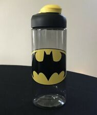 NEW Zak! DC Comics BATMAN Water Bottle 16.5oz - Snap Lid - BPA Free - Big Kid