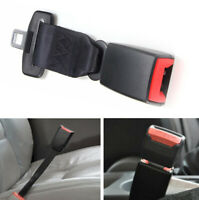 "Car Seat belt Safety Belt Extender Extension 2.1cm Buckle 23cm/ 9"" Black"