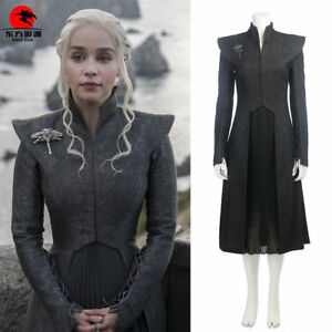 DFYM Game of Thrones Cosplay Mother of Dragons Costume Daenerys Targaryen Outfit
