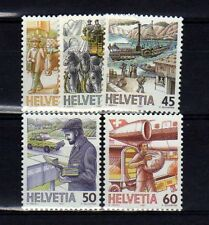 SUISSE SWITZERLAND Yvert  n° 1264/1268 neuf sans charnière MNH
