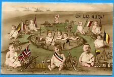 CPA Patriotique: On les aura ! / Guerre 14-18 / 1916