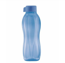 Tupperware Water Bottle 1L with Liquid Tight Seal in Blue Rare NLA New