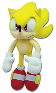 Super Sonic Plush Doll Stuffed Animal Figure Plushie Toy13 inch Gift