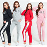 JUSTYOUROUTFIT NEW WOMENS  VOGUE PRINT TRACKSUIT 8 TO 26
