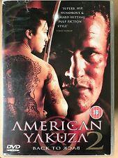 AMERICAN YAKUZA 2 BACK TO BACK ~ 1996 Japanese Gangster Crime Thriller | UK DVD