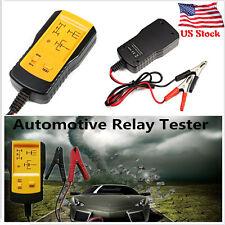 US Electronic Automotive Relay Tester 12V Car Auto Battery Checker Universal