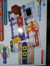 Snap Circuits Junior 100 Electronic Projects Exploration Kit Stem Engineering Le