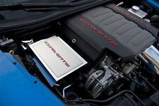 2014-2017 Corvette Stingray Fuse Box Cover - Corvette Font Carbon Fiber Colors